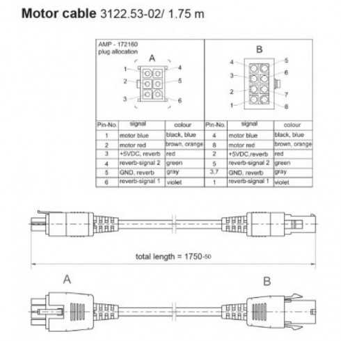 Cable conex. (8-pin Molex) a 6pin (AMP)