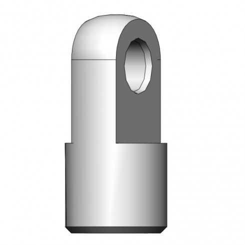 Terminal de ojal de Ø 4 mm para M4 - 06710559