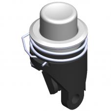 Pulsador de botón estándar