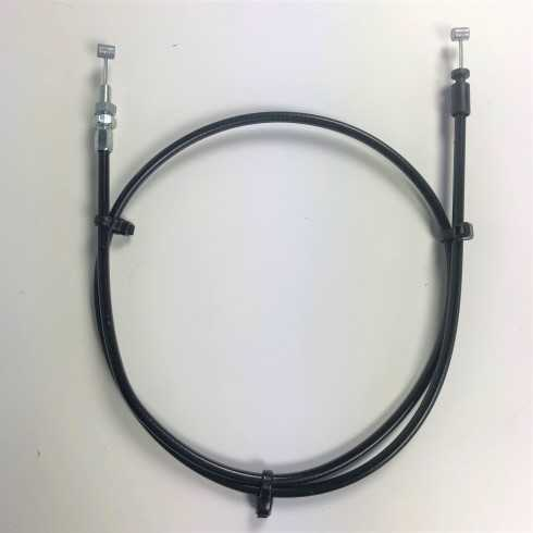 Cable con tope de funda...
