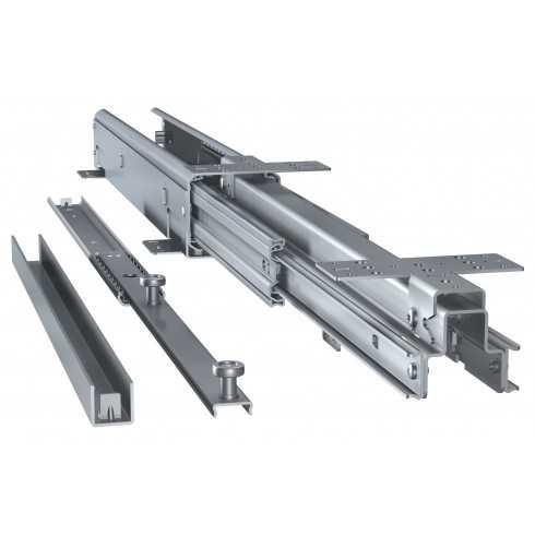 Kit columna extraible para despensero con bastidor de madera (120 kg)