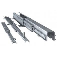 Kit columna extraible para despensero con bastidor metálico (120 kg)