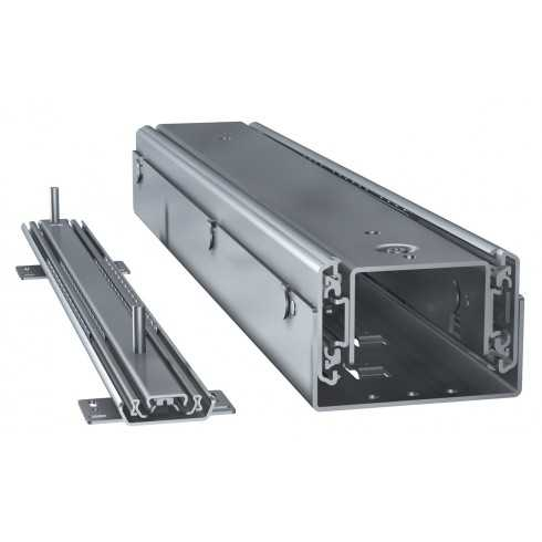 Kit columna extraible ultrarresistente (300 kg) de 650 mm.